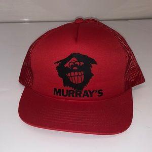 Vintage Deadstock Murray's hat snapback